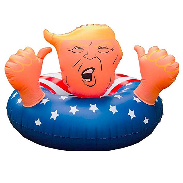 Inflatable Donald Trump Pool Ring