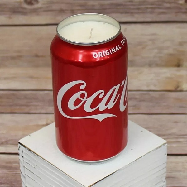 Coke-Cola Can Candle Holder