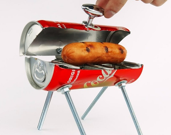 Coke-Cola Can BBQ Grill