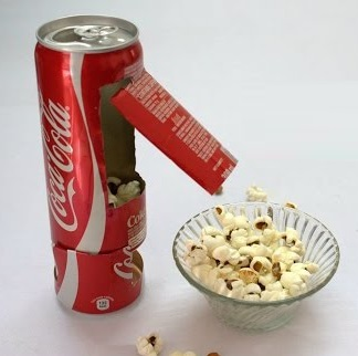 Coke-Cola Can Popcorn Maker