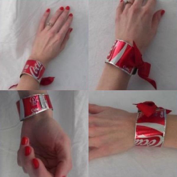 Coke-Cola Can Bracelet