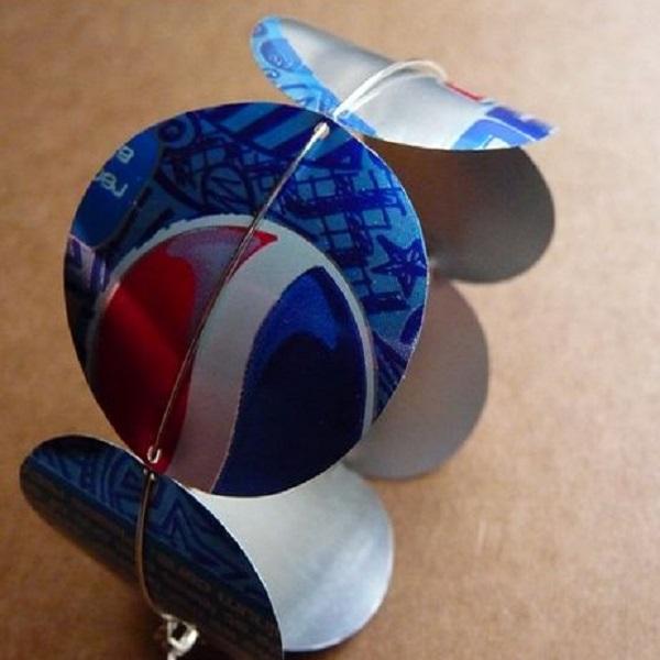 Pepsi Can Bracelet