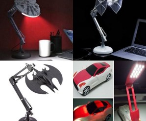 Ten Unusual Bedside Posable Lamps to Show Off Your Nerdy Side