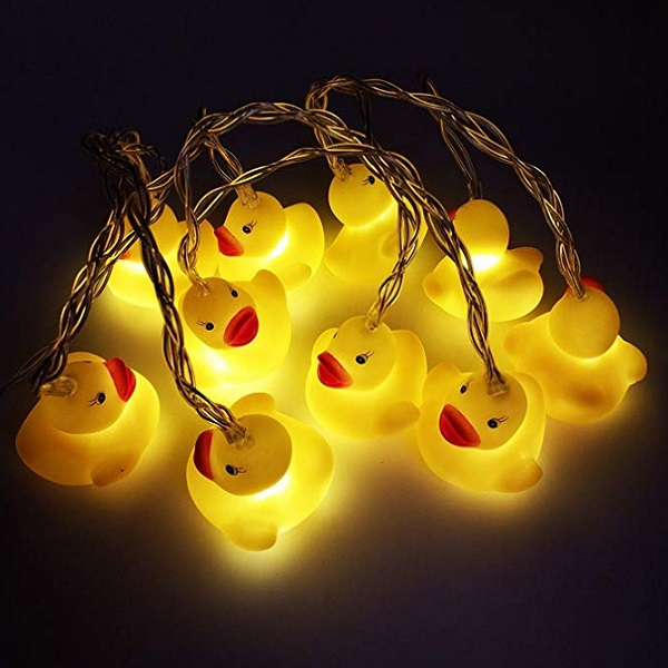 Rubber Duck String Lights