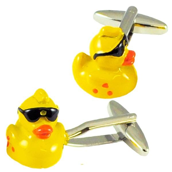 Rubber Duck Cufflinks