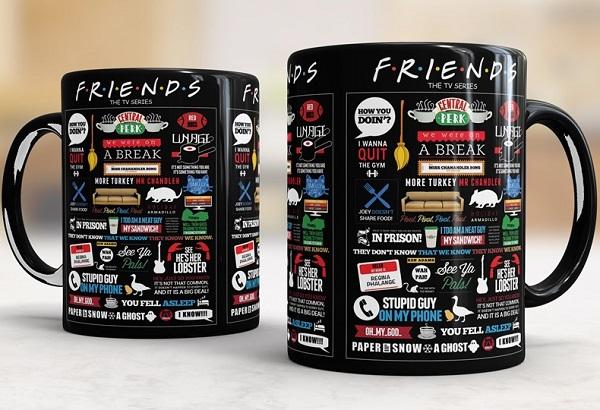 American Sitcom Friends - Coffee Mug