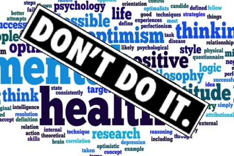 Ten Things Not to Do if You Suffer From Poor Mental Health