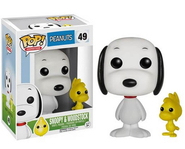 Peanuts Snoopy and Woodstock Pop! Animation Vinyl Figures