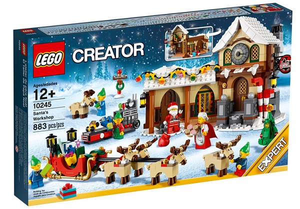 Collectable Christmas Lego