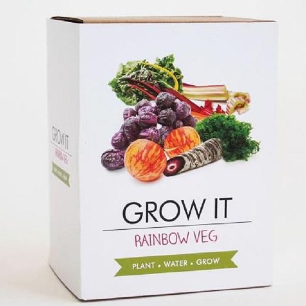 Grow Your Own Rainbow Veg Gift Idea