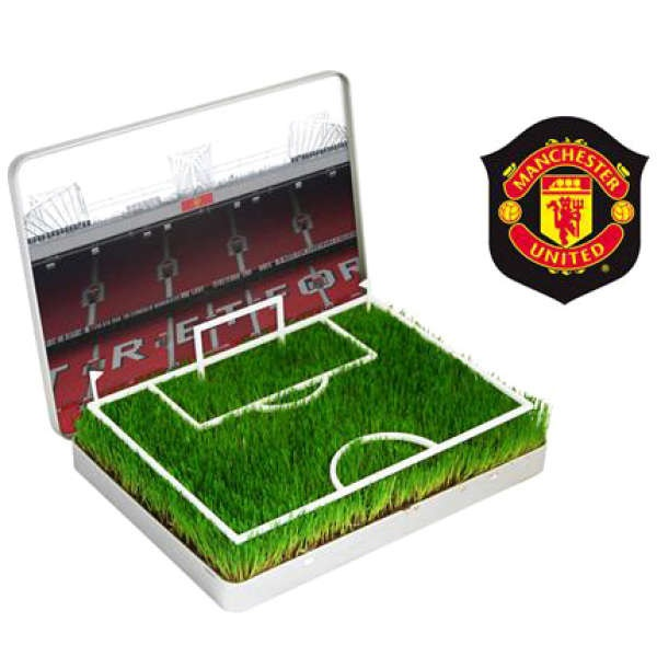 Grow Your Own Manchester United Football Pitch Gift Idea