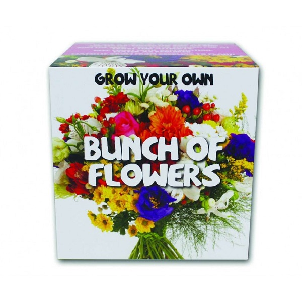 Grow Your Own Bunch Of Flowers Gift Idea