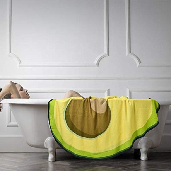 Avocado Bath Towel