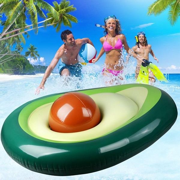 Avocado Inflatable Pool Float