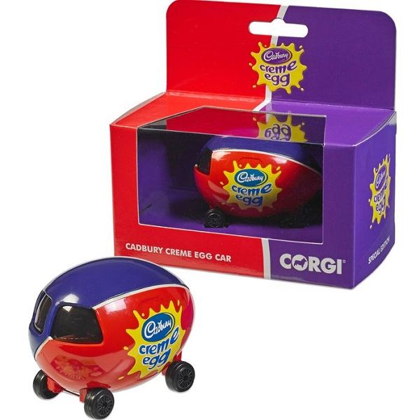 Cadbury's Creme Egg Corgi Car