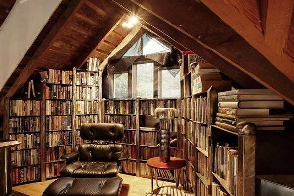 Turn Your Loft Conversion Into a Book Room