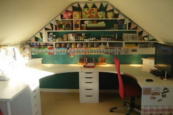 Turn Your Loft Conversion Into a Craft Room