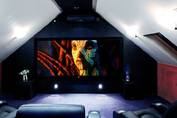 Turn Your Loft Conversion Into a Home Cinema