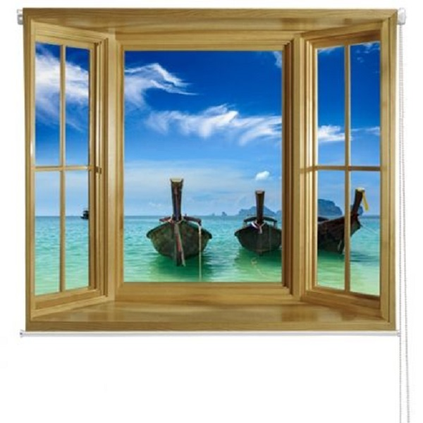Sea View Roller Blind