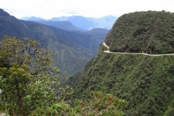 The Worlds Scariest Roads - The North Yungas Road, Bolivia