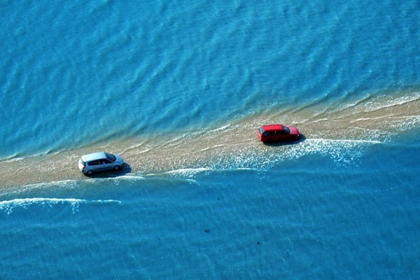 The Worlds Scariest Roads - The Passage Di Gois Road, France