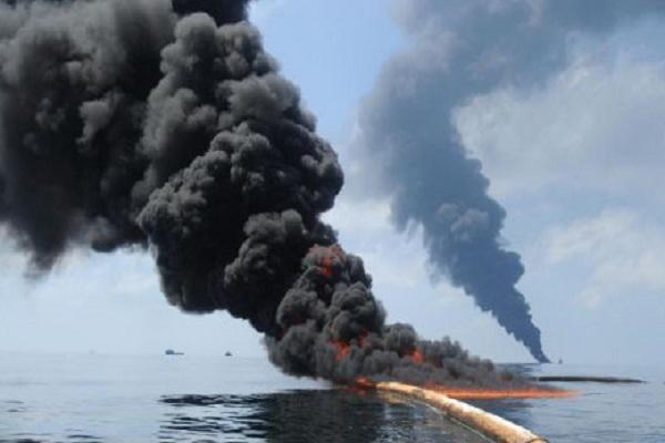 Persian Gulf war oil spill