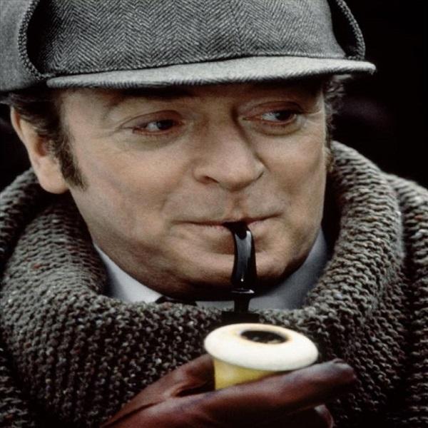 Michael Caine as Sherlock Holmes