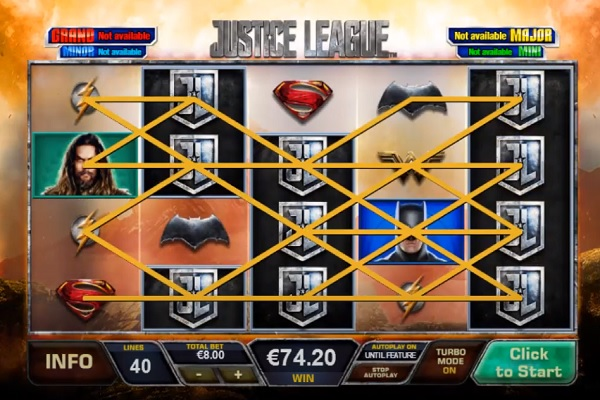 DC Justice League Slot Game
