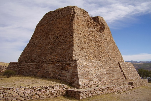 The La Quemada Pyramids
