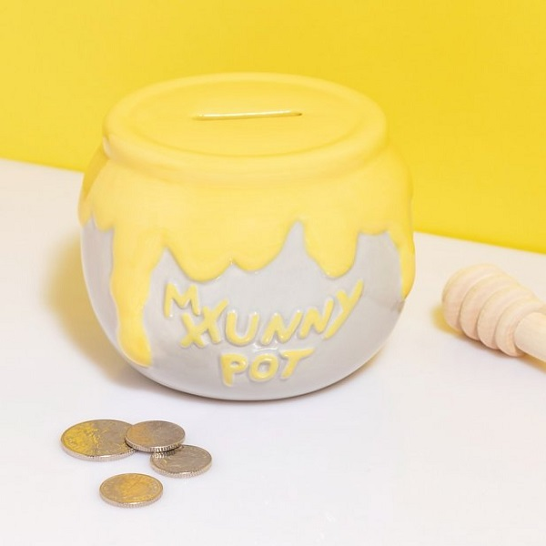 Hunny Pot Money Box