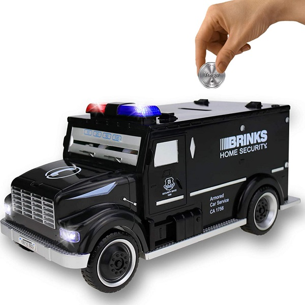 Armoured Car Money Box