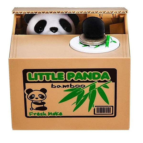 Grabbing Panda Money Box