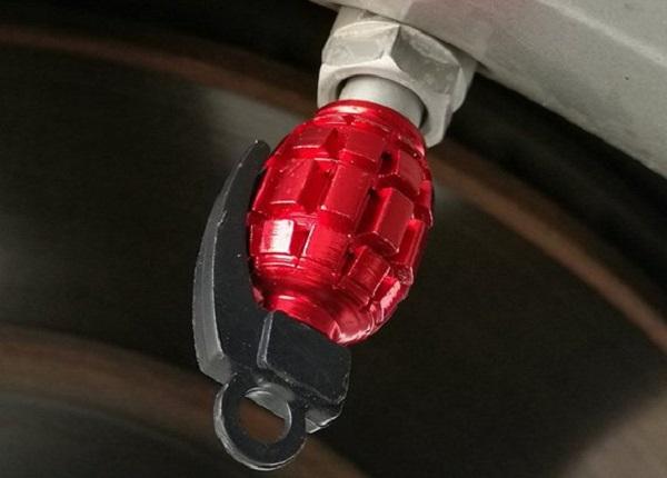 Hand Grenade Tyre Valve Cap