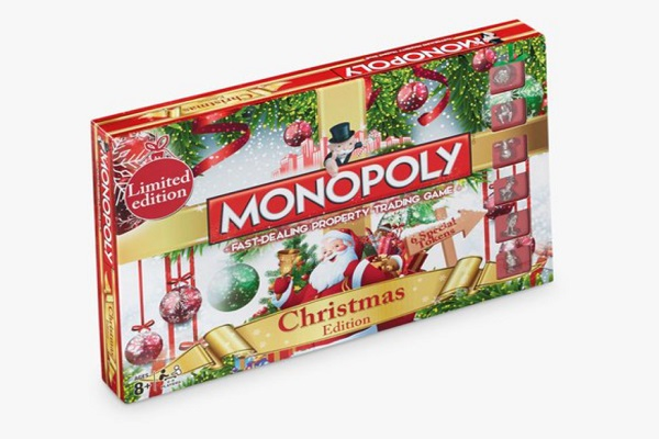 Limited Edition Monopoly Christmas Edition