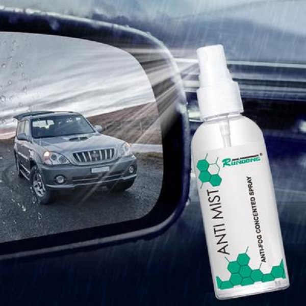 Use an Anti-fogging Spray