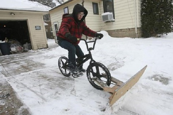 Bicycle Dozer