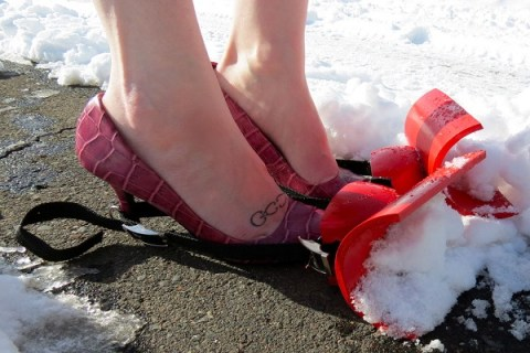 Ten Homemade Snowplough You Won't Believe Someone Actually Made