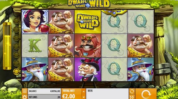 Dwarfs Gone Wild by Quickspin