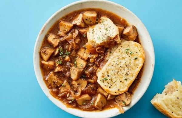 French Onion & Mushroom Soup