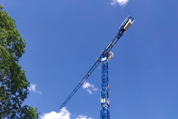 Climbing a Crane