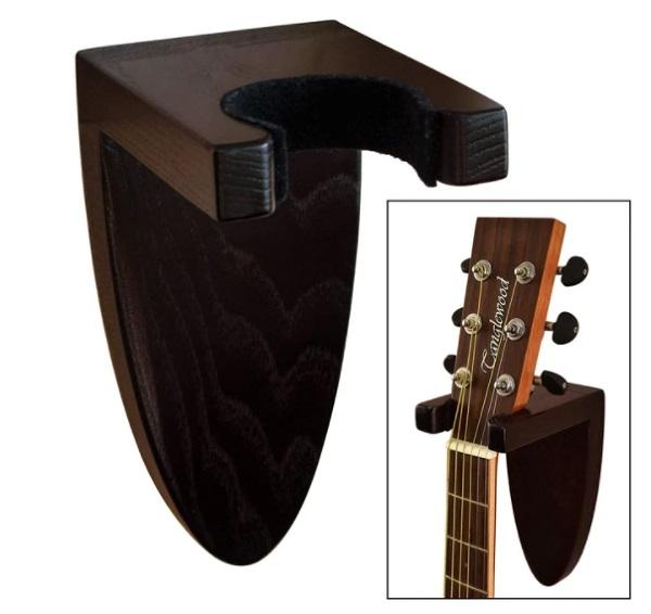 7. Wooden Guitar Wall Holder