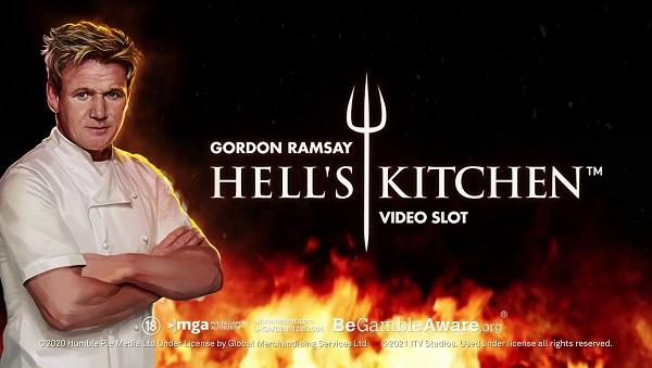 Gordon Ramsay Hell's Kitchen Slot Game