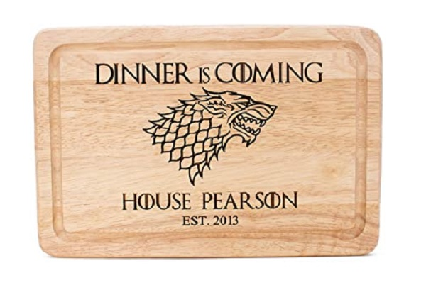 Customized Game Of Thrones Chopping Board