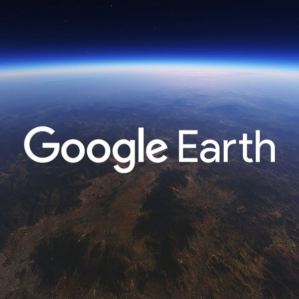Find new places on Google Earth