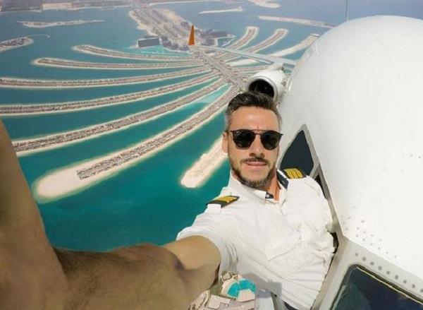 The Cockpit Selfie