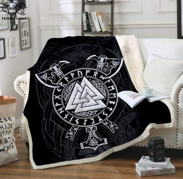 Viking Throw Blanket