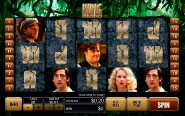 King Kong - Movie Themed Slots