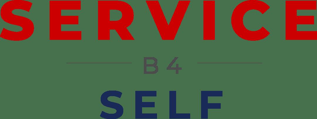 Service Before Self Color