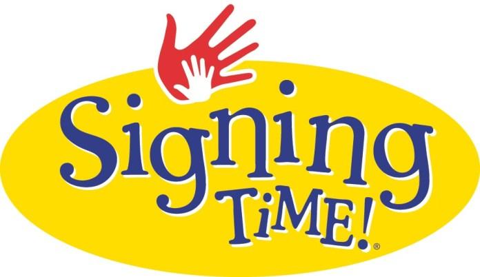 Signing Time Logo