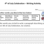 4th of July Writing Prompt